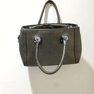 hand bag grey (nego)