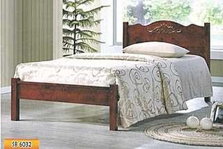 WOODEN BED SINGLE SIZE MODEL - SB6032