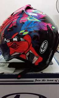 Helmet arai scoot russel