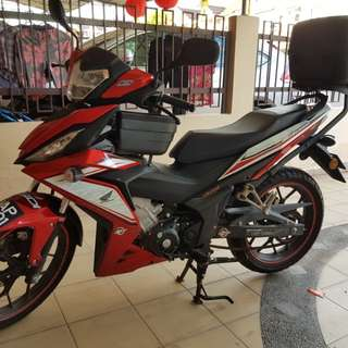 Honda rs150r red - low mileage
