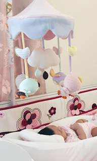 Smith musical mobile cot