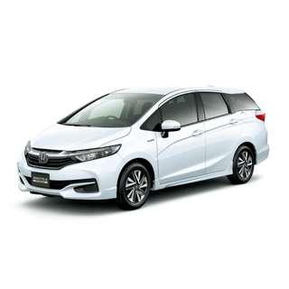 Honda Shuttle 1.5G Hybrid Facelift