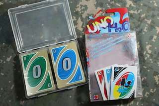 Waterproof Uno Card Game Fun Family party playing  carss