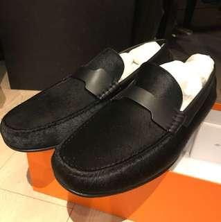 Hermes loafer 馬毛 sz 44
