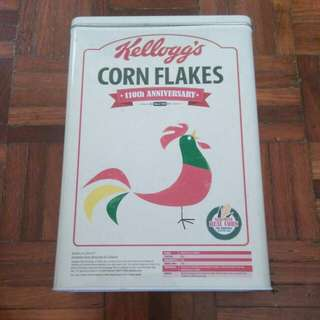 Kellogg's Cereal Tin Box