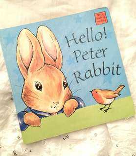 Charity Sale! Hello Peter Rabbit Children's Book Classic