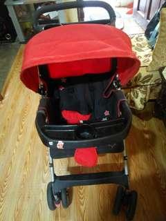 Baby Dino Stroller