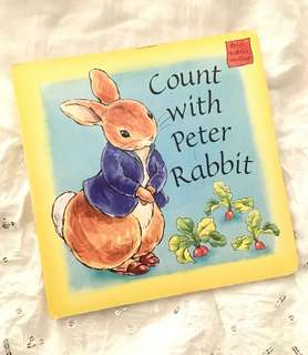 Charity Sale! Count With Peter Rabbit Children's Classic Book