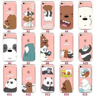 We Bare Bears iPhone Case