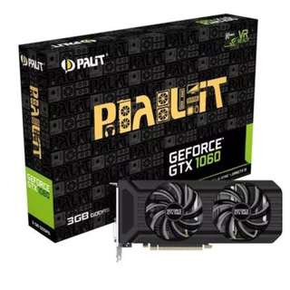 Palit GeForce GTX 1060 3GB Dual gtx1060