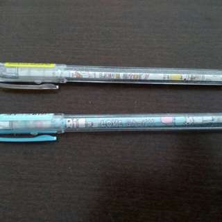 Black ink 0.5mm Gel Pen set