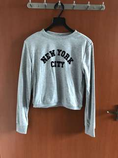 New York City Cropped Pullover