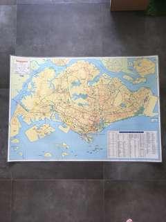 HEMA Singapore Map 2010