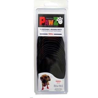 Pawz Waterproof Dog Boots in Black (Small)
