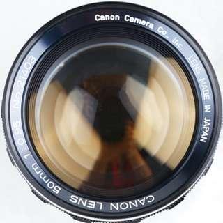 Canon 50mm f0.95 Dream Lens M-Mount by  Miyazaki MS optics