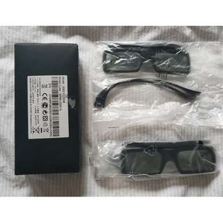 SAMSUNG 3D Active Glasses 主動式3D眼鏡 SSG-3050GB (兩副)