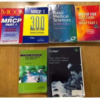 MRCP part 1 and 2 books