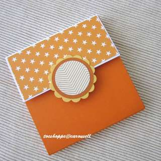 Farewell Upsize Wallet Scrapbook Card