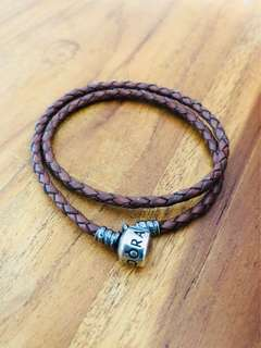 Authentic Double Layer Leather Pandora