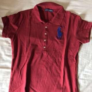 Preloved Atasan Polo Shirt