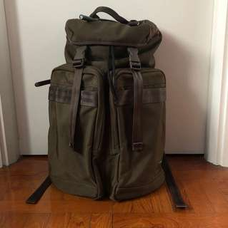 Porter international 軍綠色背包 背囊 backpack military