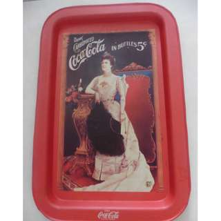 Coca-cola tray - 23.5cm by 35cm -5 pieces to choose from.