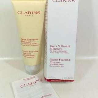 Clarins Gentle Foaming Cleanser Shea Butter
