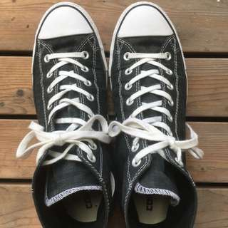 Converse 1980 高筒 黑格底