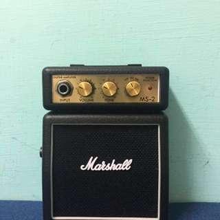 Marshall M-2攜帶式迷你電吉他音箱/電吉他音箱/黑色