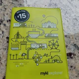 Melbourne Myki Travel Card