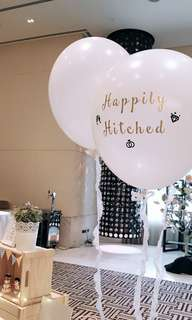 "36"" Customized Wedding Balloon"