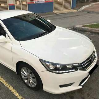 Honda Accord 2.0 For Rent Sewa Kereta