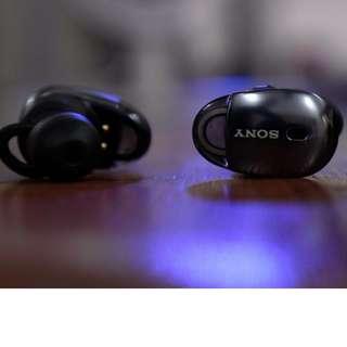SONY WF-1000X (1 Year Warranty + 3 months) True Wireless Earphone - Black