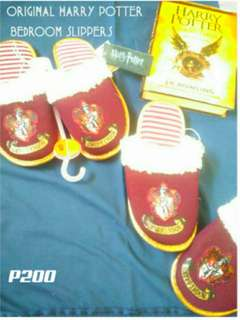 Original Harry Potter bedroom slippers(1 pair left)