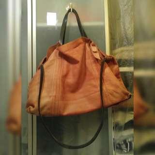 真皮手袋 Leather Bag