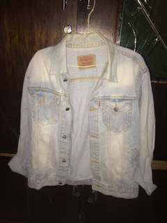 Denim jacket's levis