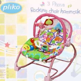 Pliko Bouncer/Rocking Chair 3in1