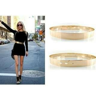 Belt Besi / Metal Belt / Plat Belt / Ikat pinggang besi wanita 4cm