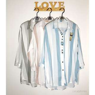 Stripe Blouse/ Shirt
