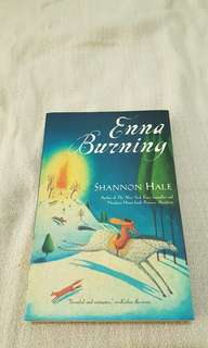 Young Adult or Teen - Enna Burning by Shannon Hale