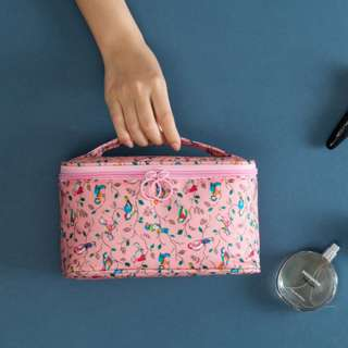 Korean Design Travel Waterproof Printed Cosmetic Storage Bag B13907