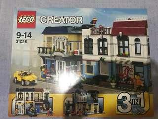 Lego 31026 Bike Shop (retired)