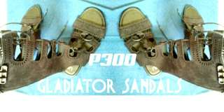 Atmosphere  gladiator sandals