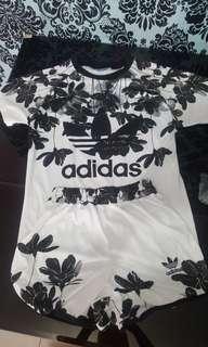 Adidas 1set with shorts