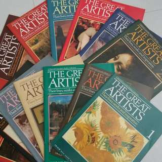THE GREAT ARTISTS magazines