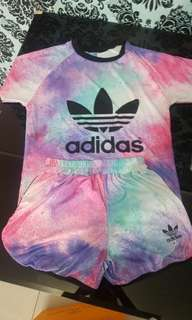 Adidas 1set with short