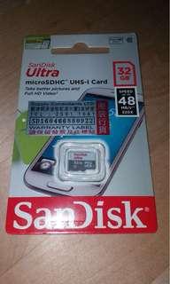 Sandisk Micro SD 32GB (全新)