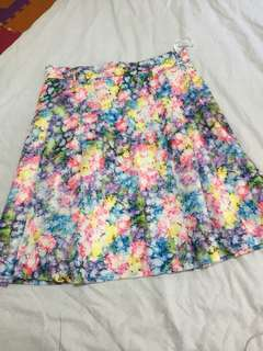 Mavis flower skirt