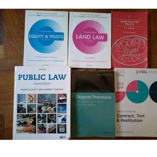 Law books, Statute books, Textbooks,