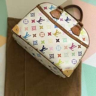 LV multicolored bag
